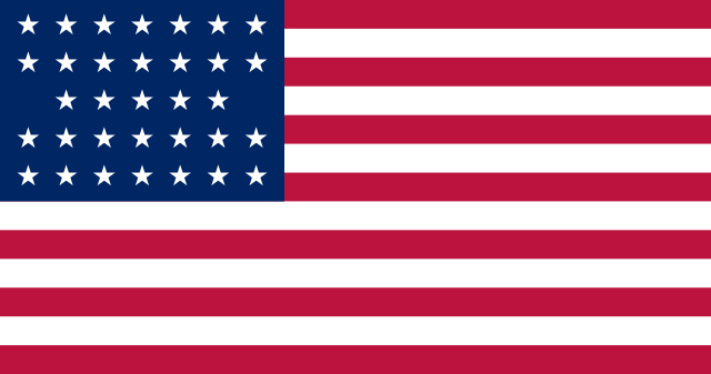 33 Star US Flag