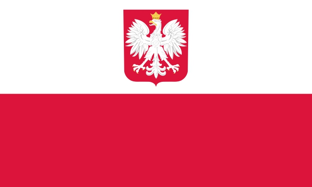 Polish State Flag and Civil Ensign