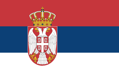 Serbia with crest