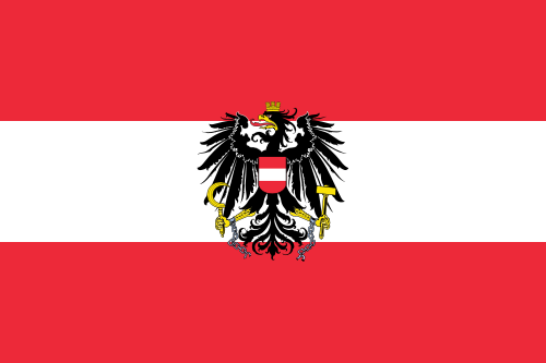 Austria State and War Flag