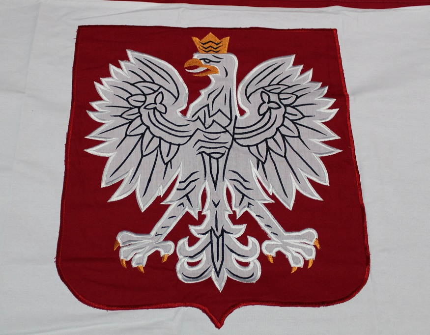 Poland w/Eagle - Sewn Cotton