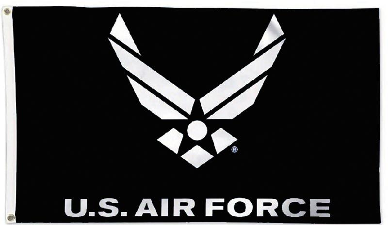 US Air Force - New Version on black