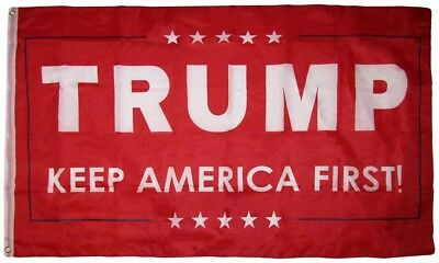 Trump -Keep America First - Red