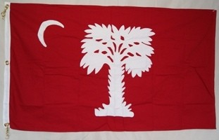 "South Carolina ""Big Red"" - Sewn Cotton"