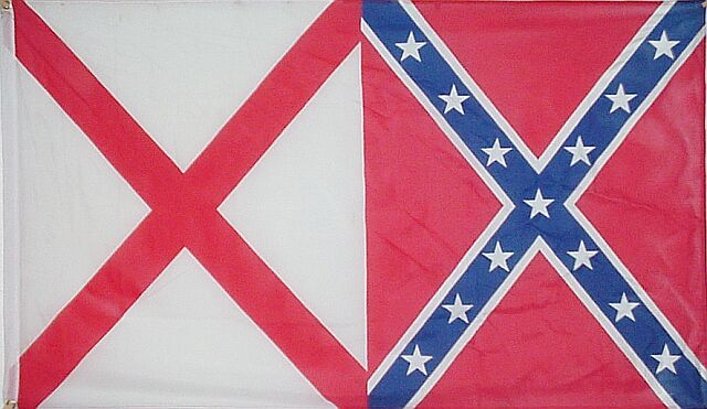 Alabama/Rebel Novelty State Flag